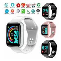 Smart Watch Bluetooth Jam Tangan Pria Wanita Digital Waterproof Y68
