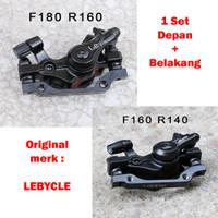 Lebycle Rotor 160mm - Kaliper Rem Cakram Mekanikal Sepeda MTB/SELI
