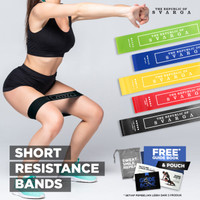 Short Resistance Band   Diameter 60cm   100% Premium Latex
