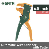 Alat pengupas kabel - self adjusting cutter stripper 91108 SataTools