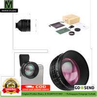 Aukey Optic Pro 2x Telephoto Lens Angle Fish Eye for Smartphone Murah