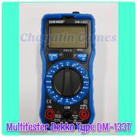 Multitester / Avometer / Tester Digital Merk DEKKO Type DM 133T