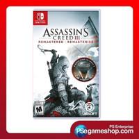 Switch Assasins Creed III Remastered Euro