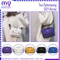 Tas Selempang DCY Korea Sling Bag Wanita Pria Unisex Kanvas Fashion
