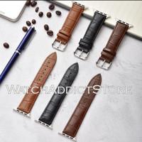 Strap iWatch Leather Classic Crocodile IWO Series 4 5 6 44mm 40mm 22mm