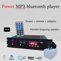 power amplifier MP3 player bluetooth 5.0 modul radio TF USB AUX pemuta