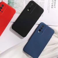 Case VIVO Y50 Y30 Y30i Softcase LIQUID Silicon - Hitam, VIVO Y30
