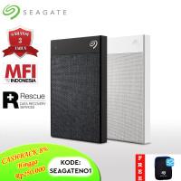Seagate Backup Plus Ultra Touch Hardisk Eksternal 2TB USB3.0 + PC [FS] - Hitam