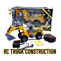 Mainan Anak Remote Control RC Truck Construction Car Mobil Excavator
