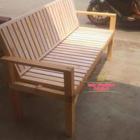 Kursi kayu Kalimantan kursi malas bangku bale bale kayu bengkira