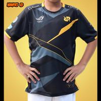 Baju kaos jersey RRQ 2021 anak free fire pubg mobile mlbb