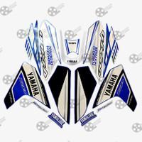 Stiker Striping Motor Vixion NVL 2014 GP biru