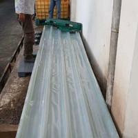 fiberglass atap penerangan