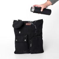 Pamole - Tas Tote Bag Waterproof Bahan Kanvas Premium - Olie Series