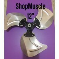 (Original) baling baling 12 kipas angin regency 12in inch Spare part