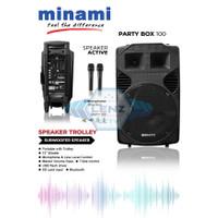 Minami Party Box 100 / Speaker Active (Meeting Speaker) 12 Inch