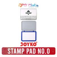 JOYKO Stamp Pad No 0 / Bak Bantal Tempat Stempel Tinta No.0