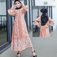 Gamis Anak Perempuan Mutia Baju Muslim Anak Usia 6 s.d 9 Tahun