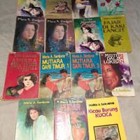 paket 15 novel maria a sardjono