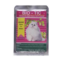 bio tic bio-tic Biotic penghilang bau kotoran kucing 30 gr