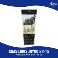 Kuas Lukis - Joyko Brush Set BR-15