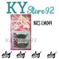 Kampas Rem Depan Elig Nucap EM049 NRS YZF-R15 V2 V3 ,Xabre . MX 135