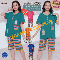 Baju Tidur FOREVER Sweet Concept ¾ Mama Size T 253