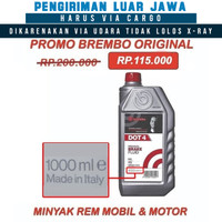 Oli minyak rem Brembo DOT 4 Brake Fluid DOT 4 BREMBO 1 liter