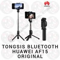 Huawei AF15 Selfie Stick Tripod Bluetooth Tongsis 100% ORIGINAL HUAWEI