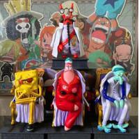 Figure Set One Piece - Akainu Kizaru Aokiji Sengoku Spongebob Ver.