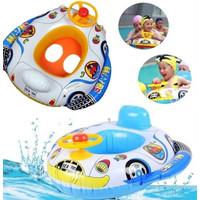 Ban Renang Setir - Ban Renang Anak - Baby Boat
