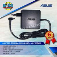 Original Adaptor Charger Asus A456 A456U 19V 3.42A (4.0mm*1.35mm) ORI