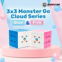 Rubik 3x3 GAN Monster GO Cloud Pink - MonsterGO GAN 3x3x3