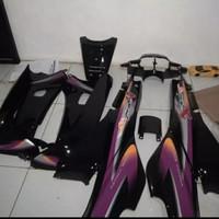 Body halus plus striping Supra x 110