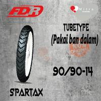 BAN LUAR FDR 90/90-14 SPARTAX TUBETYPE
