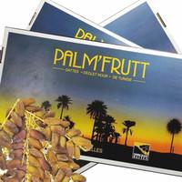 Kurma Palm fruit / Palmfrutt Tunisia Tangkai 500 gram
