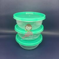 Cup thinwall 200ml HIJAU/Cup puding/Mangkok Bulat/Mangkok Plastik Mini