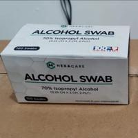 Alcohol Swab HEXACARE 70% Isopropyl Alcohol