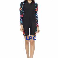 Baju renang diving lengan panjang jumpsuit dewasa - LP.c, XL