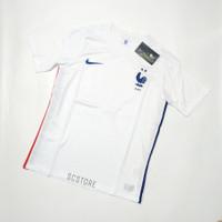 Jersey FRA Away Negara 2021 Baju Futsal Kaos Bola Pria Grade Ori