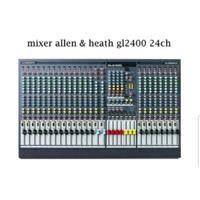 MIXER AUDIO ALLEN&HEATH GL2400 24CH/GL 2400 424 24 CHANNEL ( GRADE A )