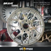 Velg Mobil Brave (4937) Ring 14 Silver Polish