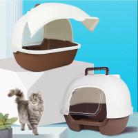 Cat litter box 7 tempat bak pasir kucing besar