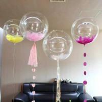 Balon Pvc Transparan 10inch (BOBO MERAH)