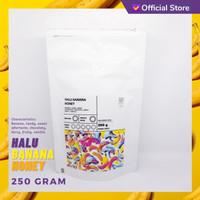 KOPI ARABIKA HALU BANANA HONEY 250 GRAM | SUTOYO COFFEE - BIJI