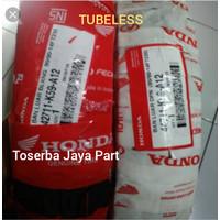 SEPASANG BAN LUAR TUBELESS MEREK HONDA FEDERAL RING 14