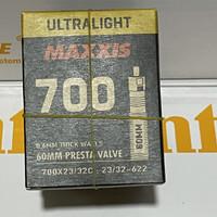 ban dalam maxxis ultralight 700 23-32 60mm