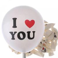 Balon Latex I Love You