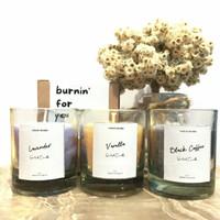 GHUFI Scented Candle 60gr | Lilin Aroma Terapi Lavender Vanilla Coffee