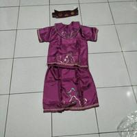 Adat anak perempuan TK daerah NTT /kostum karnaval anak